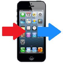 Nieuwe Iphone Data Overzetten